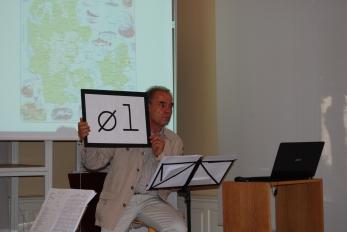 Peter Wessel en Palacio de Isla
