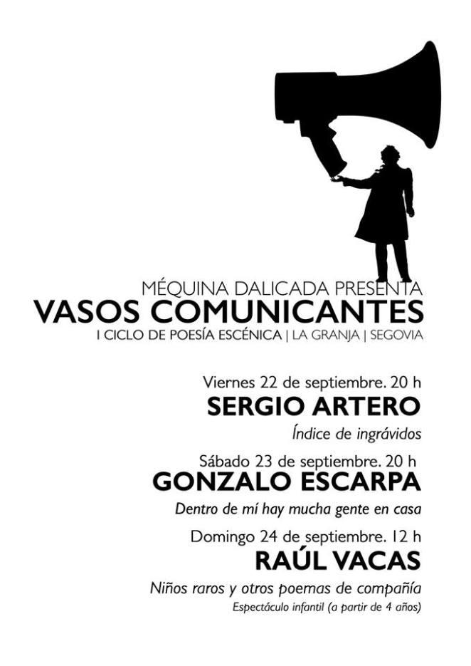 Cartel Vasos Comunicantes 2017