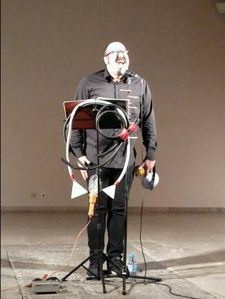 David Trashumante en Museo de Arte Contemporáneo Esteban Vicente